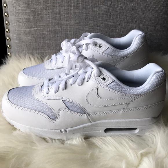 90dde5823c Nike Shoes   Id Air Max 1 Triple White Womens   Poshmark